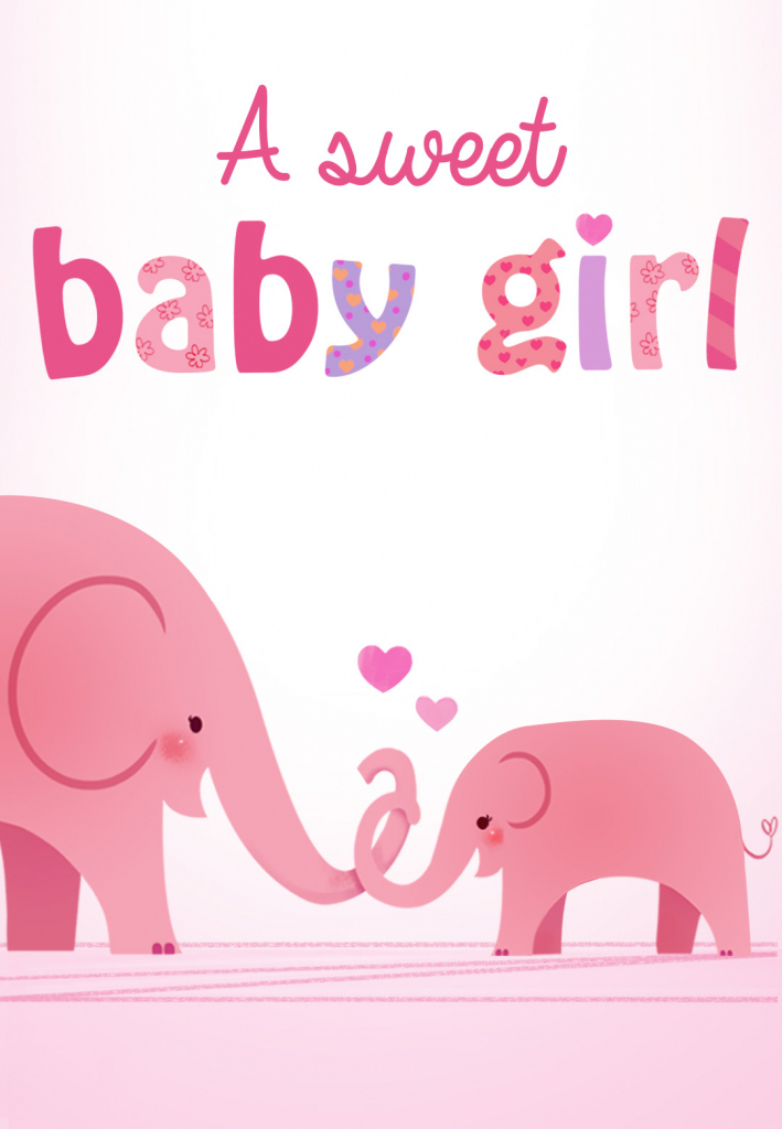 Forever In Your Heart - Free Baby Shower & New Baby Card | Greetings | Free Printable Welcome Cards