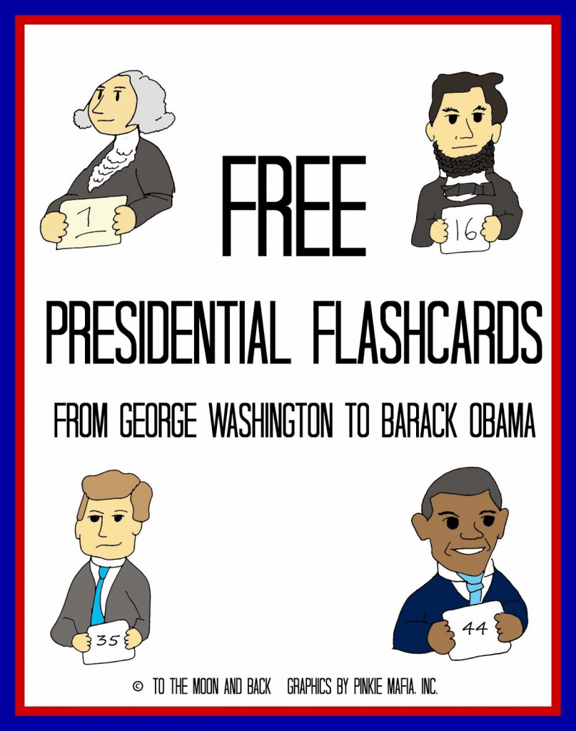 "Free ""a Presidential Affair"" Printables And Flashcards 