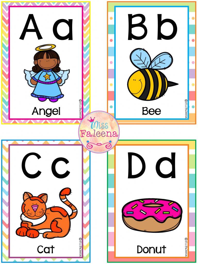 Free A-Z Alphabet Flash Cards | Esl | Kindergarten Freebies | Printable Tagalog Alphabet Flash Cards