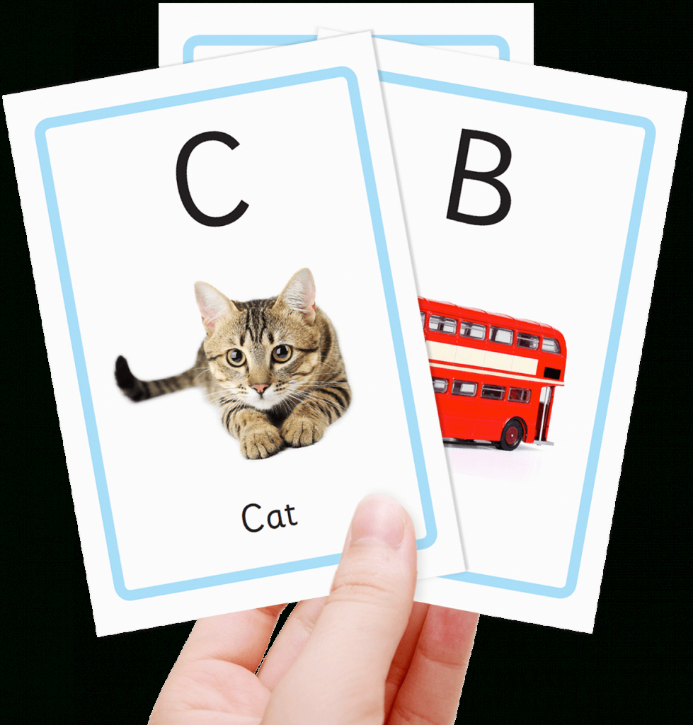 Free Alphabet Flashcards For Kids - Totcards | Free Printable Alphabet Cards With Pictures