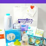 Free Babies 'r Us Registry Gift Bag   What You'll Get! | Free Baby | Babies R Us Printable Registry Cards