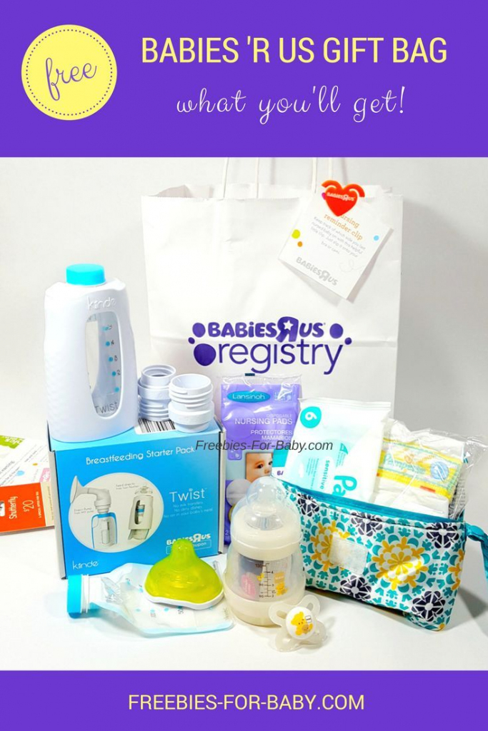 Free Babies 'r Us Registry Gift Bag - What You'll Get! | Free Baby | Babies R Us Printable Registry Cards