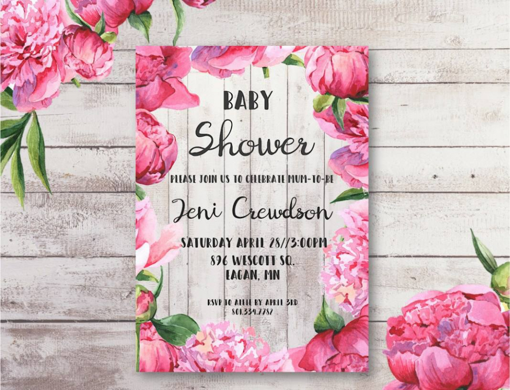 Free Baby Shower Printables To Save You Money | Free Printable Baby Shower Card