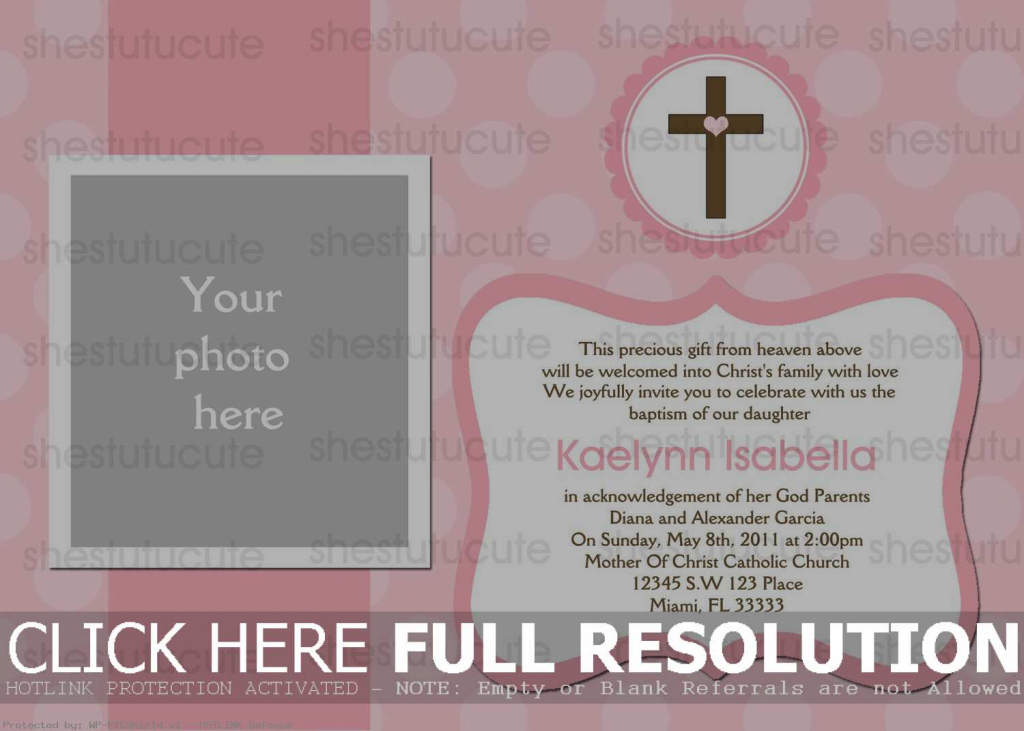 Free Baptism Cards To Print - Under.bergdorfbib.co | Printable Baptism Christening Cards