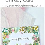 Free Birthday Card | Birthday Ideas | Free Printable Birthday Cards | Printable Romantic Birthday Cards For Her
