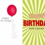 Free Birthday Card Design   Kleo.bergdorfbib.co | Design Your Own Birthday Card Printable