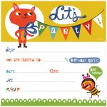 Free Birthday Invitation Cards For Kids   Under.bergdorfbib.co   Free Printable Kids Birthday Cards Boys