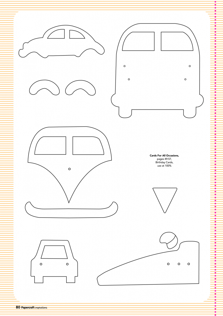 Free Card Making Templates From Papercraft Inspirations 123 | Printable Card Making Templates