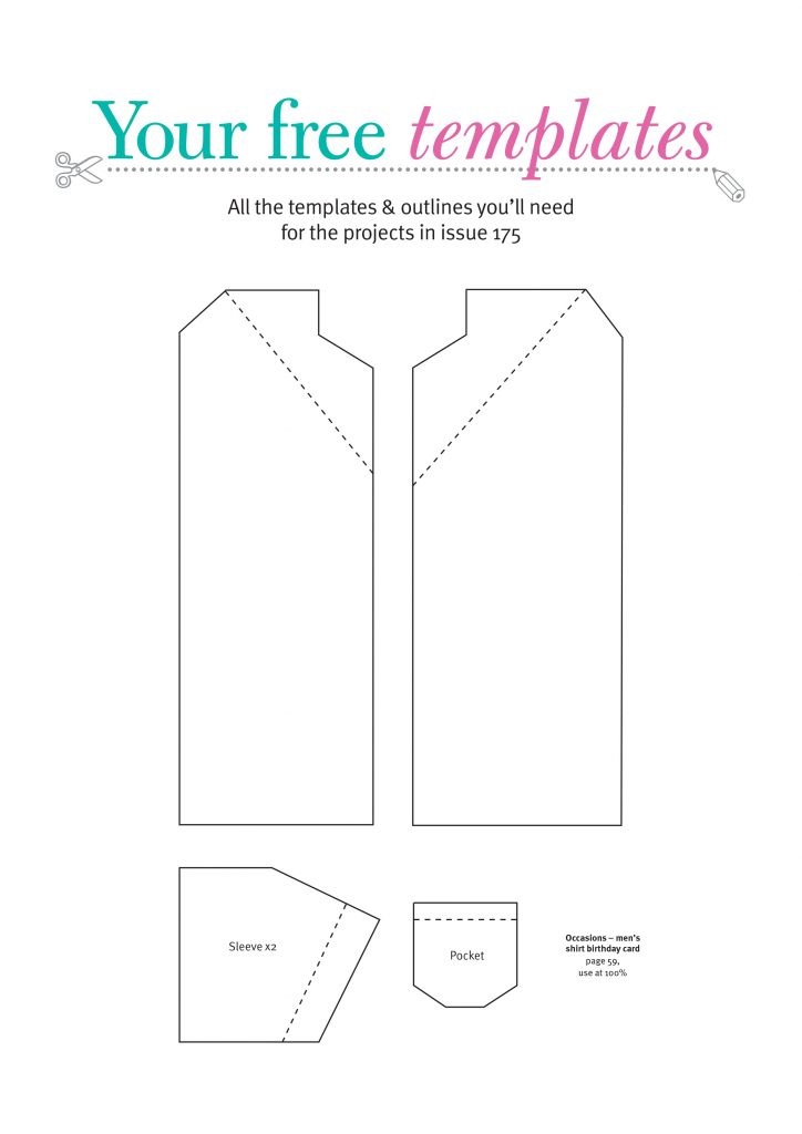 Free Card Making Templates From Papercraft Inspirations 175 | Printable Card Making Templates