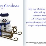 Free Christmas And Holiday Cards And Pictures | Free Printable Quarter Fold Christmas Cards