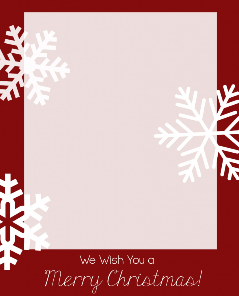 Free Christmas Card Templates | Christmas Is In The Air | Printable | Free Online Printable Christmas Cards