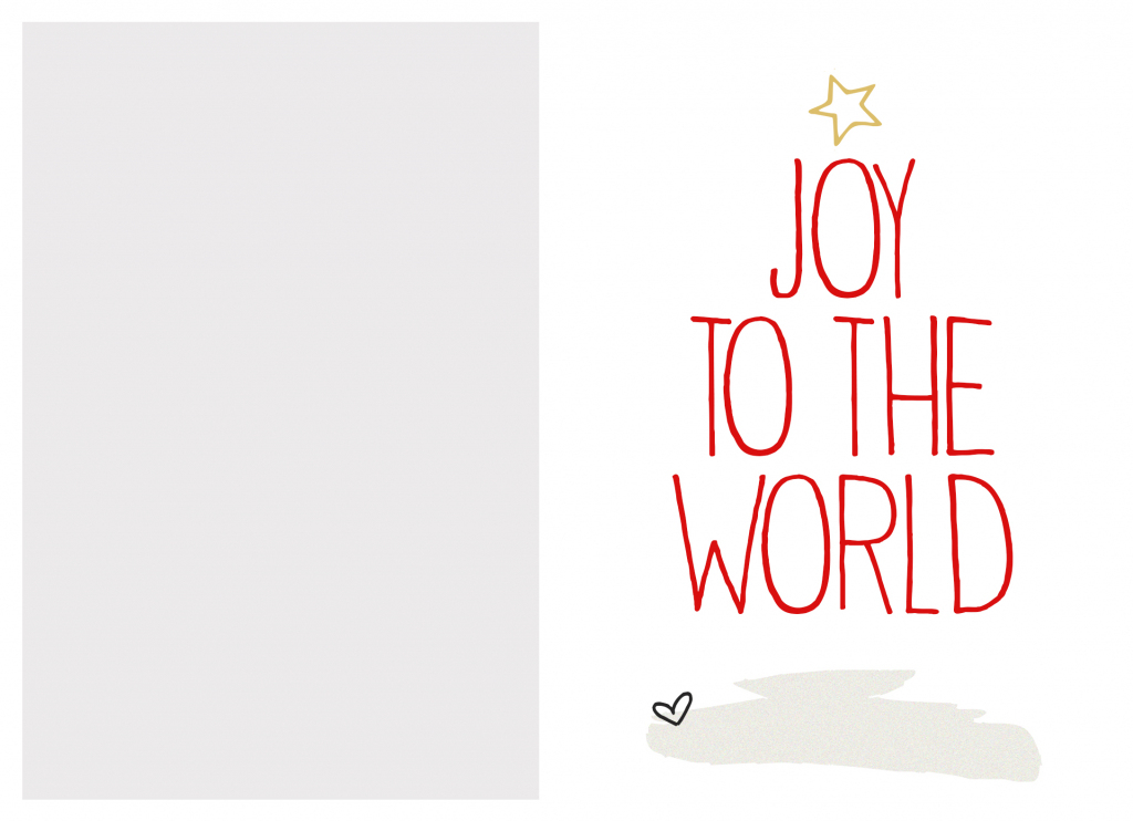 Free Christmas Cards Printables - Kleo.bergdorfbib.co | To And From Christmas Cards Printable