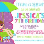 Free Custom Printable Birthday Cards — Birthday Invitation Examples | 7Th Birthday Card Printable