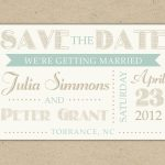 Free Electronic Save The Date Templates   Kleo.bergdorfbib.co   Printable Save The Date Birthday Cards