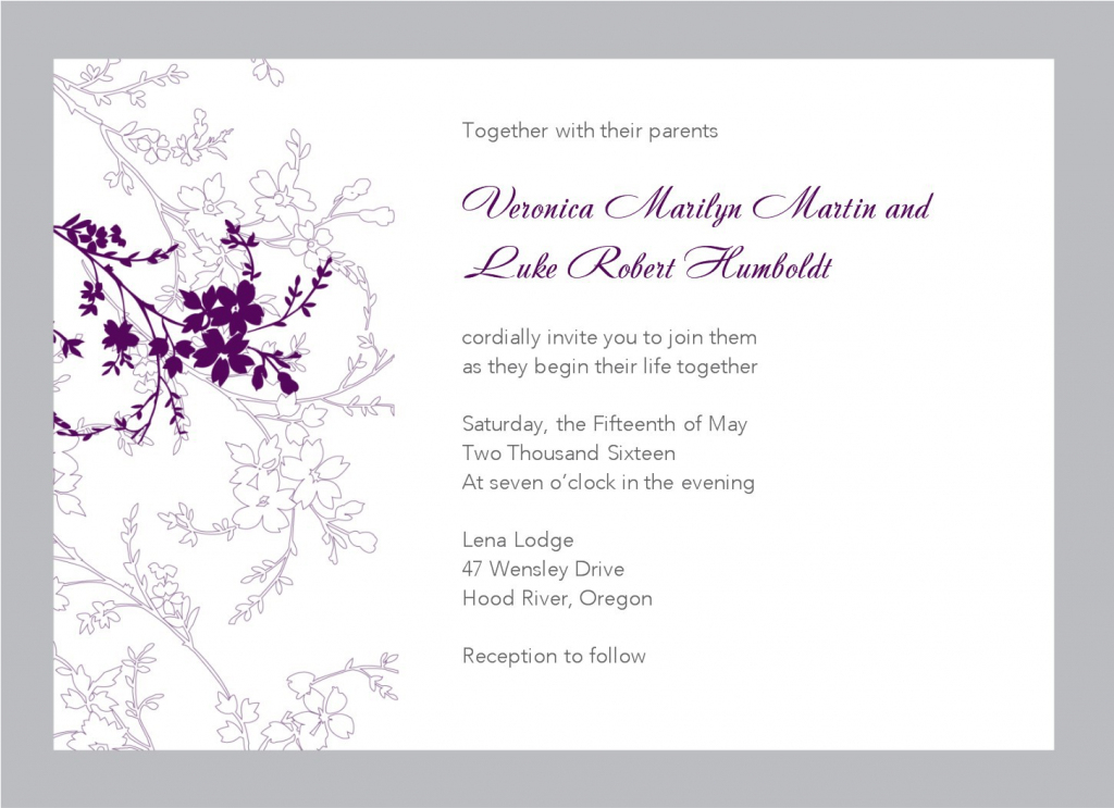 Free Email Invitation Cards - Kleo.bergdorfbib.co | Wedding Invitation Cards Printable Free
