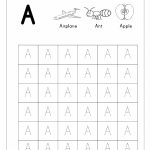 Free English Worksheets   Alphabet Tracing (Capital Letters | Printable Alphabet Tracing Cards