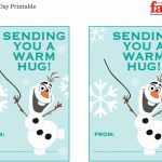 Free Frozen Valentine Printable   Nj Family | Frozen Valentine Cards Printable
