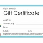 Free Gift Certificate Templates You Can Customize | Printable Gift Card Template