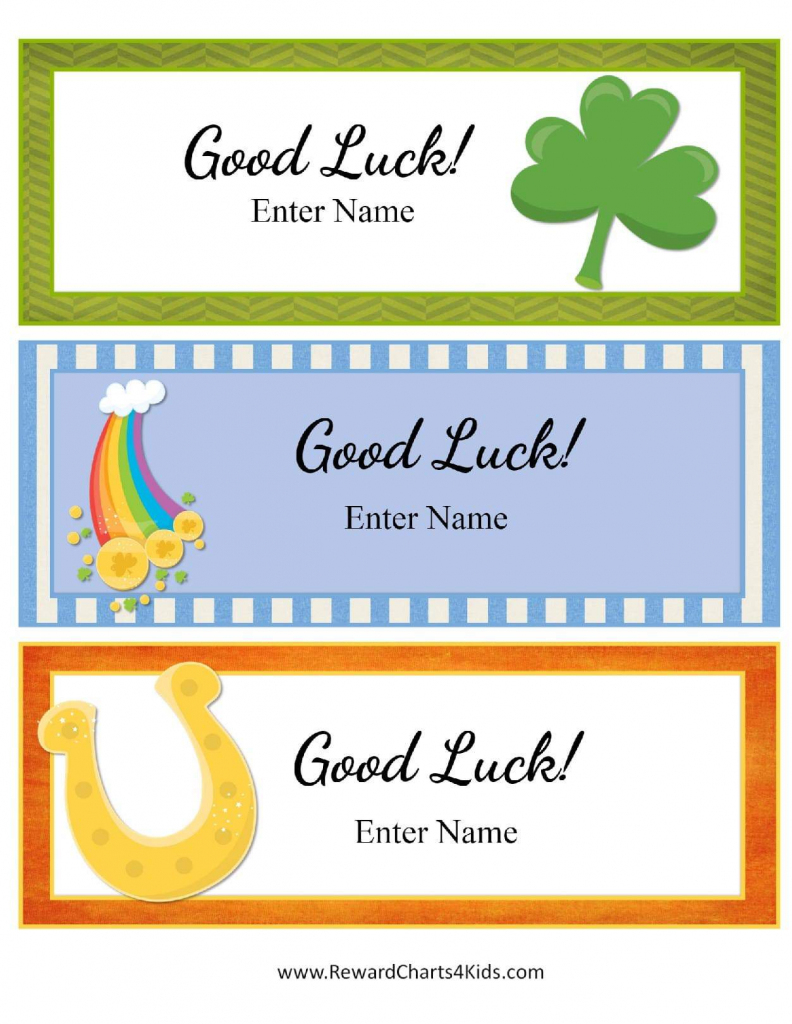 Free Good Luck Cards For Kids | Customize Online & Print At Home | Free Printable Good Luck Cards