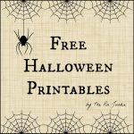 Free Halloween Coloring Pages For Adults & Kids   Happiness Is | Free Printable Halloween Cards