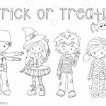 Free Halloween Coloring Pages For Adults & Kids   Happiness Is | Printable Halloween Cards To Color For Free
