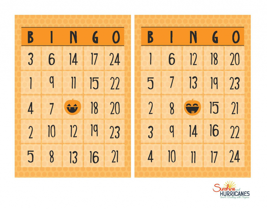 Free Halloween Printables - Bingo | Halloween Picture Bingo Cards Printable