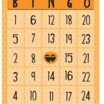 Free Halloween Printables   Bingo | Printable Number Bingo Cards