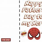 Free* Happy Fathers Day Cards Printable, Ideas For Facebook   Free   Free Printable Fathers Day Cards For Preschoolers