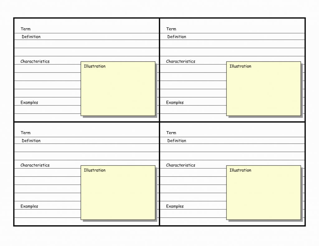 Free Index Card Template Beautiful 8 Best Of Printable Blank | Free Printable Blank Index Cards