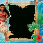 Free Moana Birthday Invitation Template | Moana (Disney) Printables | Moana Birthday Card Printable