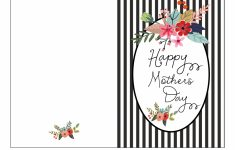 Free Mother's Day Card Printable – Fab Fatale | Free Printable Mothers Day Cards To My Wife
