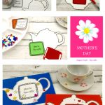 Free Mother's Day Card Template| Crafty Kids | Mother's Day | Teapot Mother's Day Card Printable Template