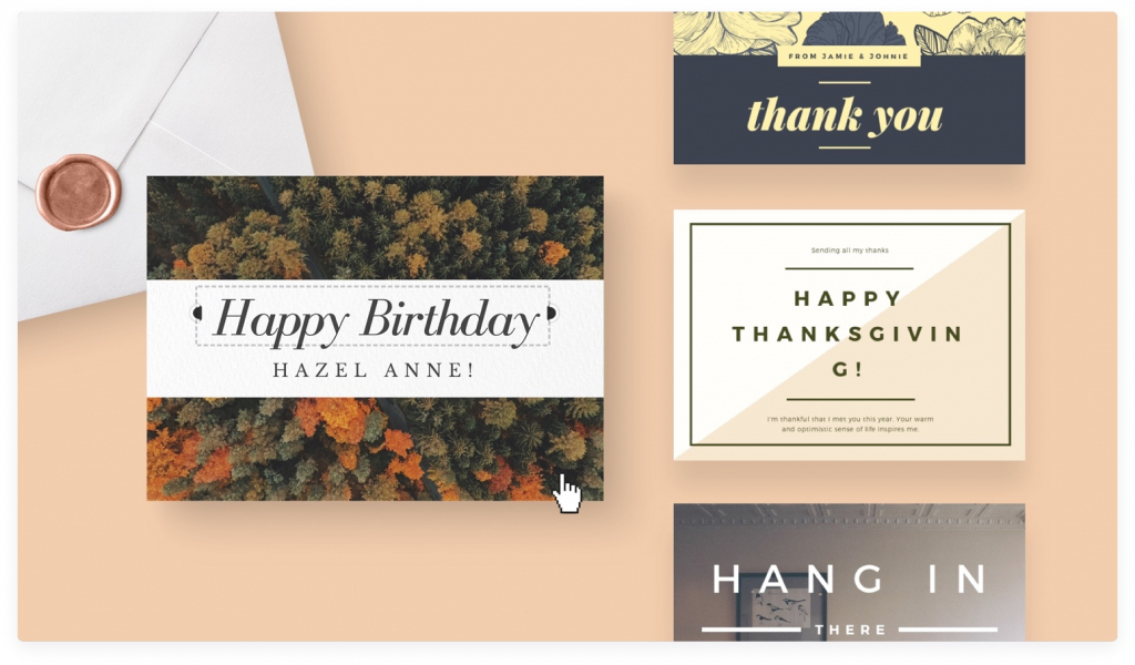 Free Online Card Maker: Create Custom Designs Online   Canva   Make Your Own Printable Birthday Cards Online Free
