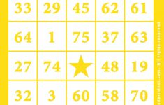 Bingo Cards Online Printable