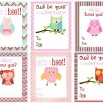 Free Owl Printables | Free Printable Valentine's Day Cards For Kids | Free Printable Valentines Day Cards Kids
