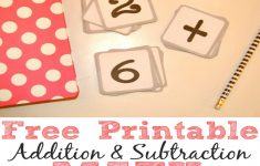 Free Printable Addition Flash Cards
