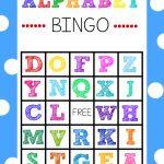Free Printable Alphabet Bingo Game | Abc Games | Alphabet Bingo | Abc Bingo Cards Printable