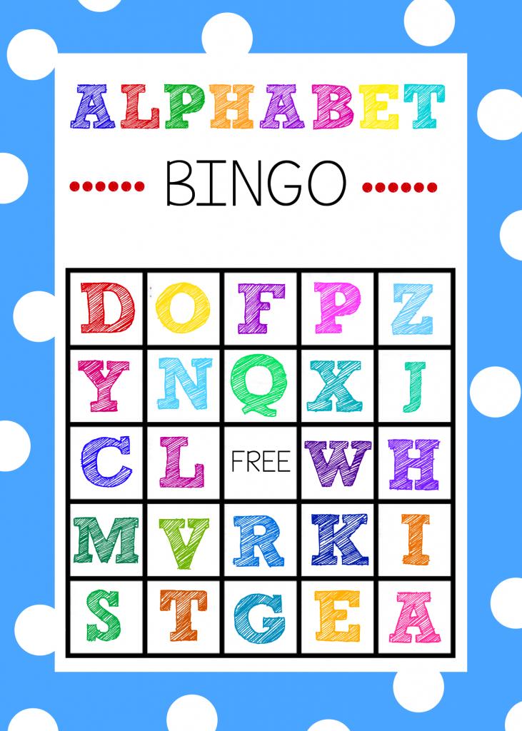 Free Printable Alphabet Bingo Game | Abc Games | Alphabet Bingo | Free Printable Alphabet Bingo Cards