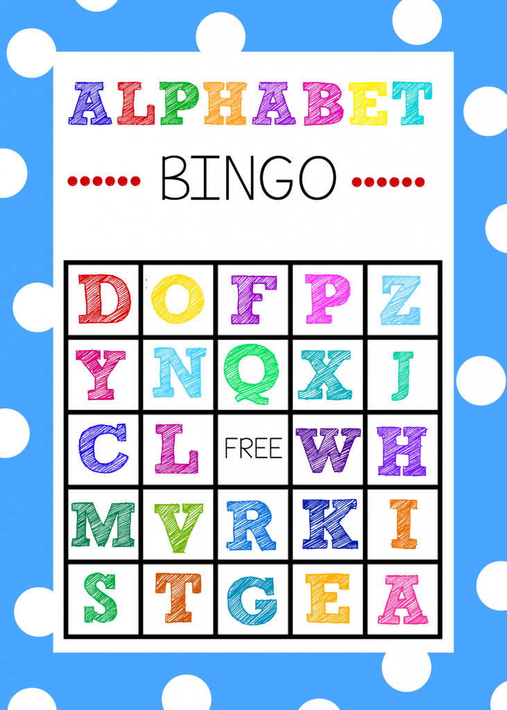Free Printable Alphabet Bingo Game | Printable Picture Bingo Cards For Kids