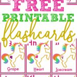 Free Printable Alphabet Flashcards For Toddlers   Simple Mom Project | Printable Abc Flash Cards Preschoolers