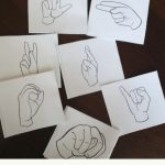 Free Printable American Sign Language Alphabet Flashcards | Sign Language Flash Cards Free Printable