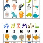 Free Printable Animal Bingo Cards For Toddlers And Preschoolers | Animal Matching Cards Printable