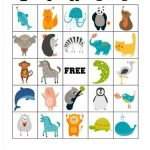 Free Printable Animal Bingo Cards For Toddlers And Preschoolers | Free Printable Animal Cards