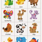 Free Printable Animal Flash Cards | Pictureicon | Animal Snap Cards Printable
