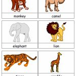 Free Printable Animals Flash Cards | Free Printable For Learning | Free Printable Animal Cards