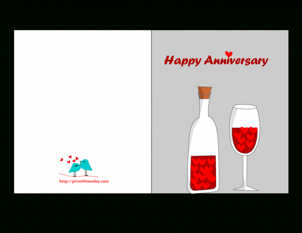 Free Printable Anniversary Cards | Free Printable Anniversary Cards