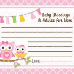 Free Printable Baby Advice Cards. Request A Custom Order And Have | Free Mommy Advice Cards Printable