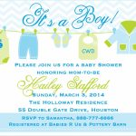 Free Printable Baby Boy Shower Invitation Templates Elegant Baby | Free Printable Baby Shower Cards Templates