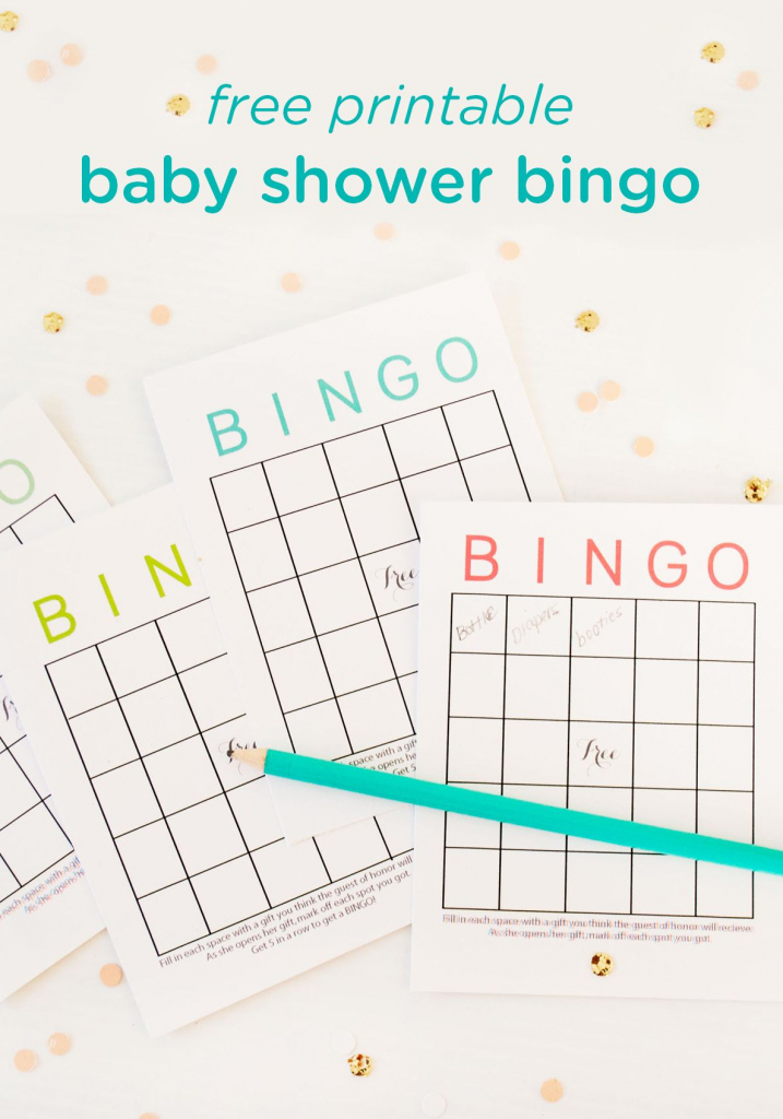 Free Printable Baby Shower Bingo Cards | Baby Shower Ideas | Baby | 50 Free Printable Baby Bingo Cards