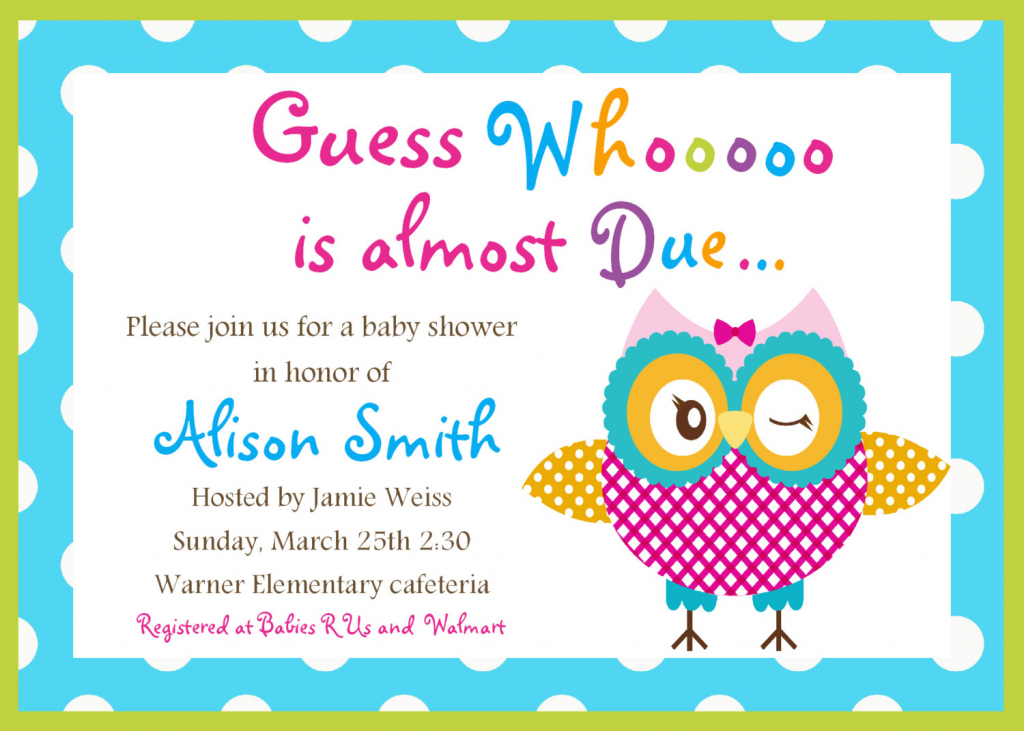 Free Printable Baby Shower Cards Free Printable Baby Baby Shower | Printable Baby Shower Cards